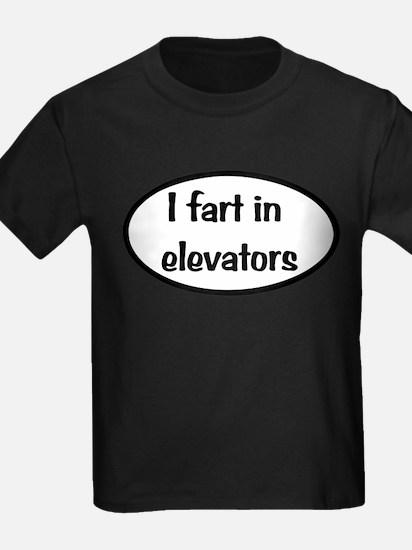 iFart in Elevators Oval T