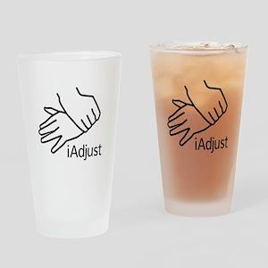 iAdjust - Chiro Hands Drinking Glass