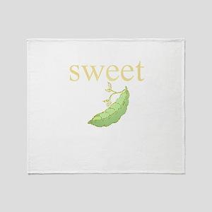 Personalities - Sweet Pea Throw Blanket
