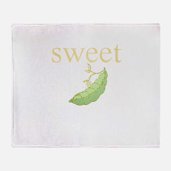 Personalities - Sweet Pea Throw Blanket