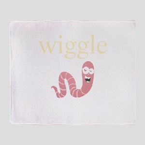 Personalities - Wiggle Worm Throw Blanket