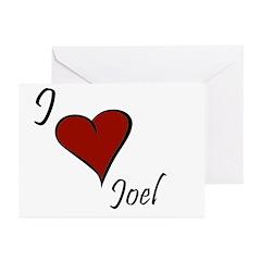 Joel Greeting Cards (Pk of 20)
