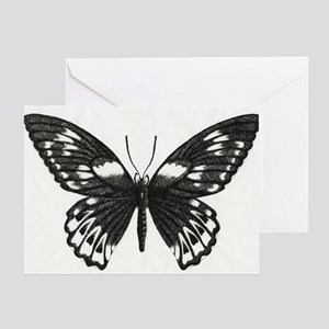 Stippled Butterfly Greeting Card