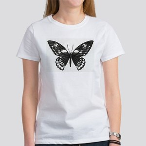 Stippled Butterfly Women's T-Shirt