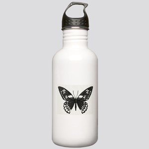 Stippled Butterfly Stainless Water Bottle 1.0L