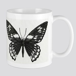 Stippled Butterfly Mug