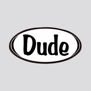 Dude Oval Patches