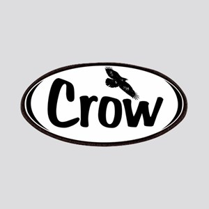 Crow Oval Patches