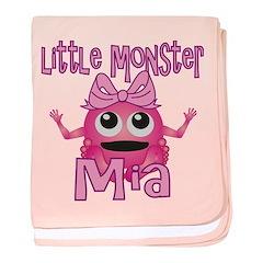 Little Monster Mia baby blanket