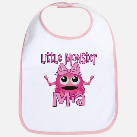 Little Monster Mia Bib