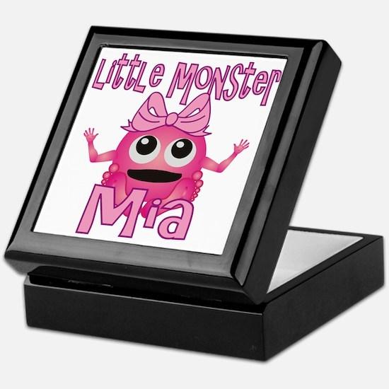 Little Monster Mia Keepsake Box