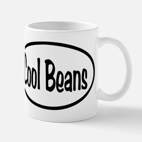Cool Beans Oval Mug