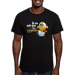 Je ne suis pas une croquette - Men's Fitted T-Shir