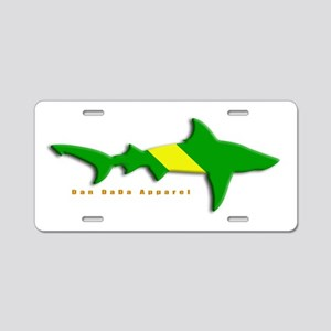 Shark Nitrox Diving Flag Aluminum License Plate