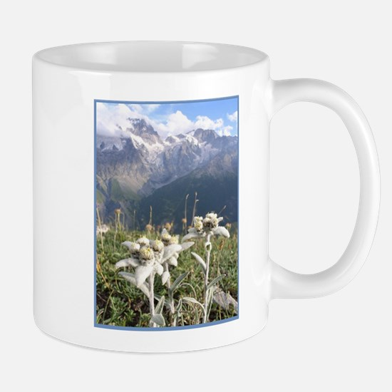 edelweiss mountains Mugs