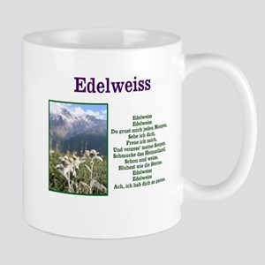 Edelweiss German Lyrics Mugs