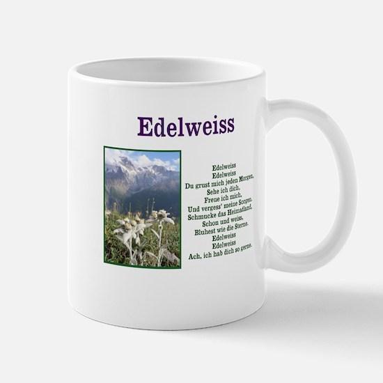 Edelweiss German Lyrics Mugs