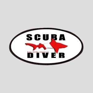 Scuba Diver: SHARK Patches