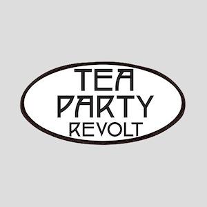 Tea Party Revolt (plain) Patches