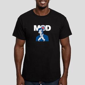 Mod Boy Men's Fitted T-Shirt (dark)