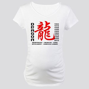 Year of The Dragon Characteristics Maternity T-Shi