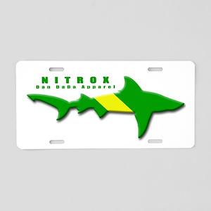 Nitrox Shark Aluminum License Plate