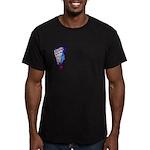 abundance Men's Fitted T-Shirt (dark)