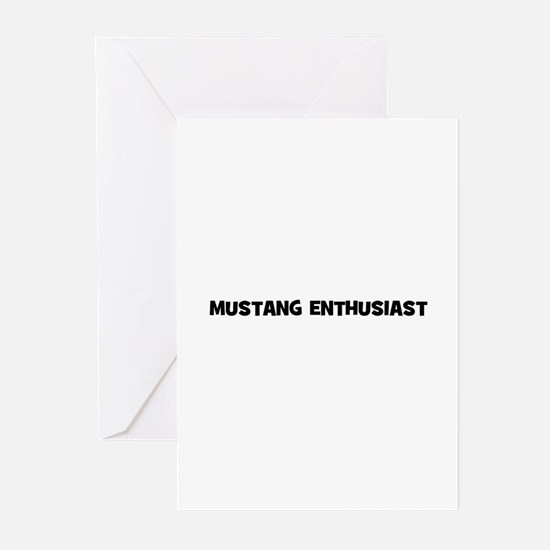 Mustang Enthusiast Greeting Cards (Pk of 10)