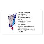 abundance Sticker (Rectangle)