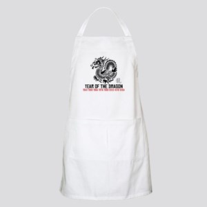 Chinese New Year of The Dragon Apron