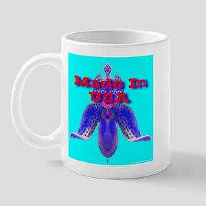 Made In America Western Font Mug