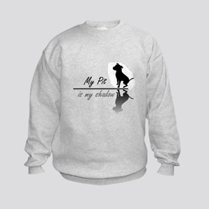 My Pit is my shadow Kids Sweatshirt