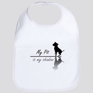 My Pit is my shadow Bib