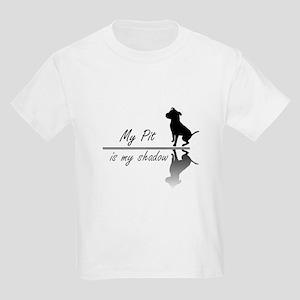 My Pit is my shadow Kids Light T-Shirt