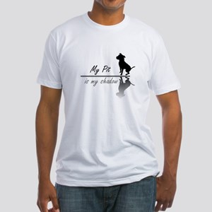 My Pit is my shadow Fitted T-Shirt
