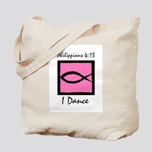 Christian Dancer Tote Bag
