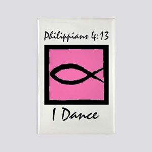 Christian Dancer Rectangle Magnet