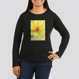 Activated Christ Heart Women's Long Sleeve Dark T-