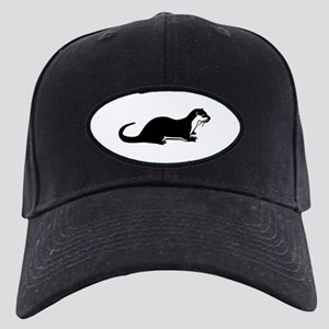 Otter Black Cap