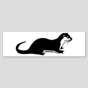 Otter Sticker (Bumper)