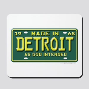 Made in Detroit Mousepad