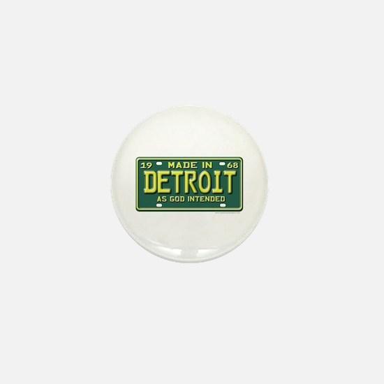 Made in Detroit Mini Button