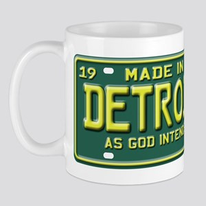 Made in Detroit Mug