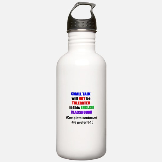 Unique English classroom Water Bottle