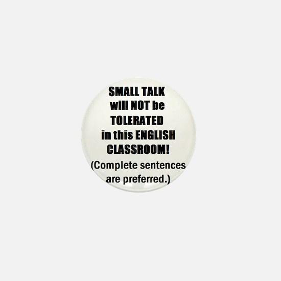 Unique English classroom Mini Button