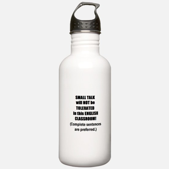 Funny English classroom Water Bottle