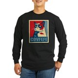 Covfefe Long Sleeve Dark T-Shirts