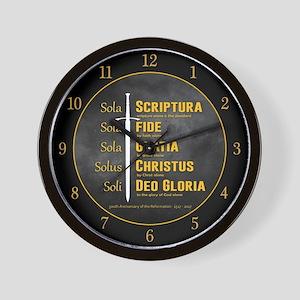 5 Solas Wall Clock