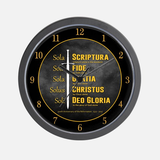 5 Solas Wall Clock