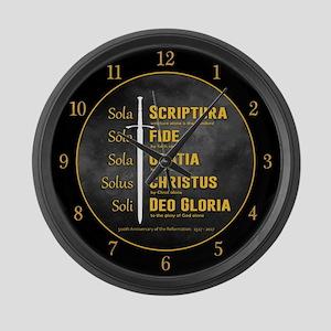 5 Solas Large Wall Clock